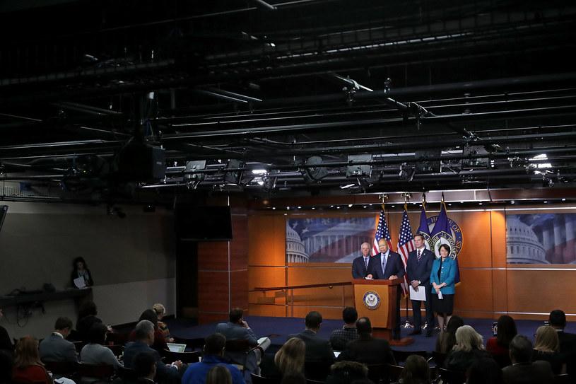 Demokraci i Republikanie jednym głosem o zaostrzeniu sankcji wobec Rosji /CHIP SOMODEVILLA / GETTY IMAGES NORTH AMERICA  /AFP