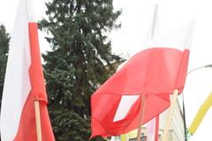 Demonstracja kupców przed Sejmem