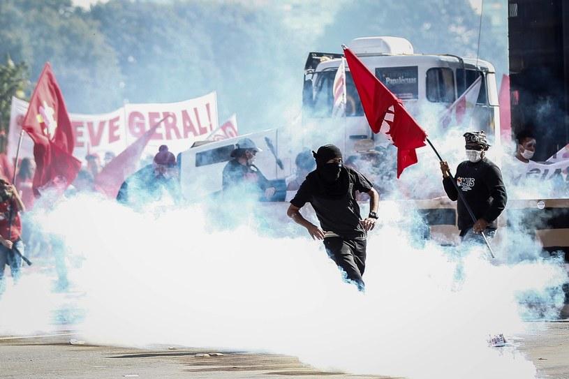 Demonstracje w Brazylii /FERNANDO BIZERRA JR. /PAP/EPA