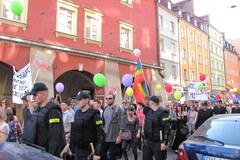 Demonstranci sparaliżowali centrum Wrocławia