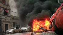 Demonstranci starli się z policją w Sao Paulo