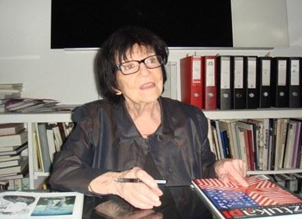 Denise René w swojej galerii,  fot. Grażyna Banaszkiewicz /Sztuka.pl