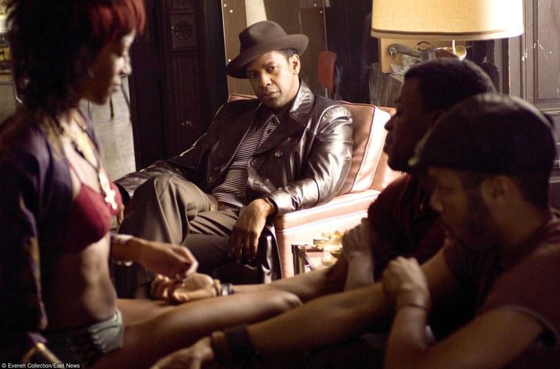 "Denzel Washington w filmie ""American Gangster"" /Everett Collection /East News"