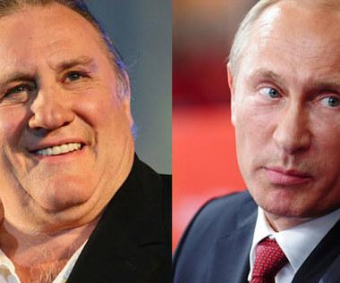 Depardieu chwali Putina