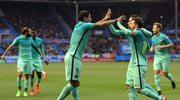 Deportivo Alavés - FC Barcelona 0-6 w 22. kolejce Primera Division