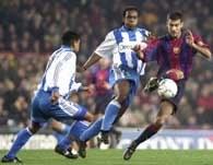 Deportivo zdobyło komplet punktów w Barcelonie