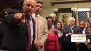 Deputowani okupują Kongres