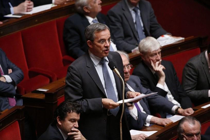 Deputowany francuskiej prawicy Thierry Mariani /AFP