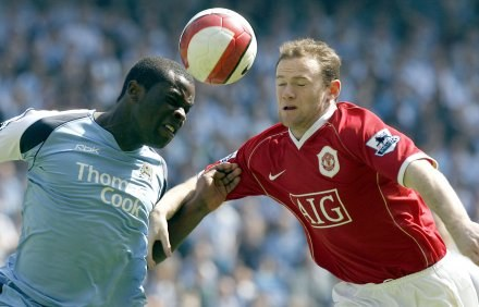 Derby Manchesteru dla United /AFP