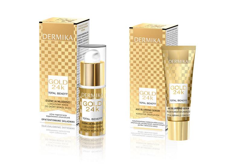 Dermika Gold 24 k Total Benefit /Styl.pl/materiały prasowe