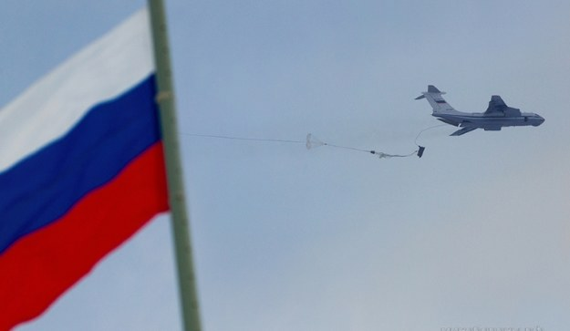 Desant ciężkiego sprzętu          Fot. Ministry of Defence of the Russian Federation /materiały prasowe