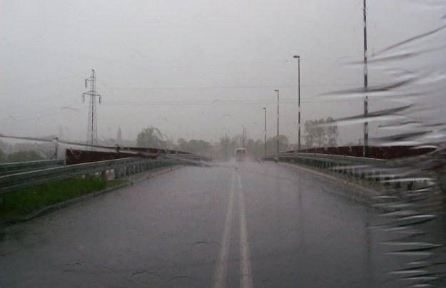 Deszcz i wiatr to złe połączenie /INTERIA.PL