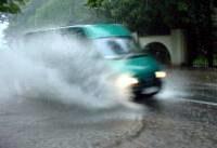 Deszcz przeszkadza w jeździe /RMF