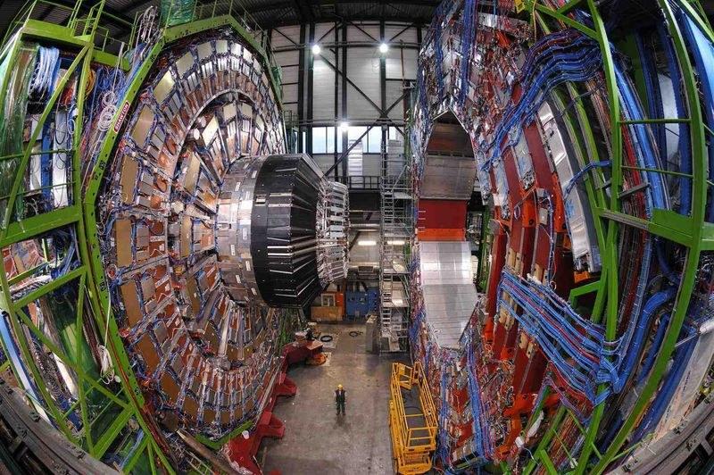 Detektor ATLAS akceleratora LHC. Żródło: CERN /materiały prasowe