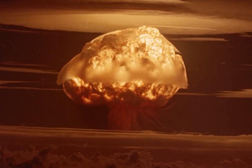 Detonacja ładunku Castle Bravo. /YouTube