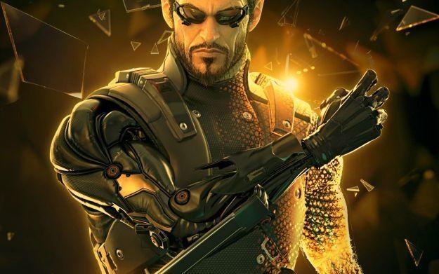 Deus Ex: Human Revolution - motyw graficzny /Informacja prasowa