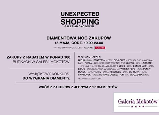 Diamentowa Noc Zakupów /materiały prasowe