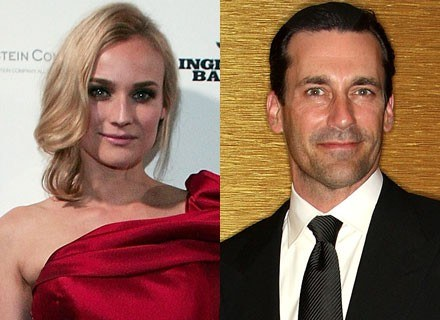 Diane Kruger i Jon Hamm /Getty Images/Flash Press Media