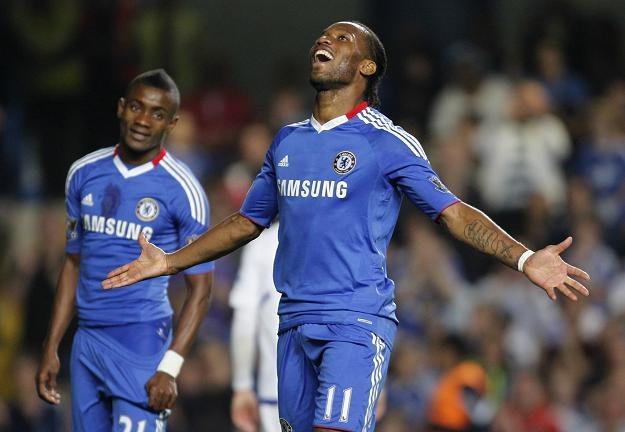 Didier Drogba to jeden z najlepszych napastników w Premier League /AFP