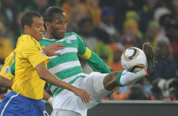 Didier Drogba to największa gwiazda reprezentacji Wybrzeża Kości Słoniowej /AFP