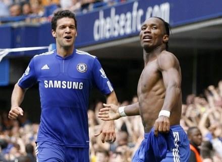 Didier Drogba zapewnił Chelsea zwycięstwo w meczu z Hull City /AFP