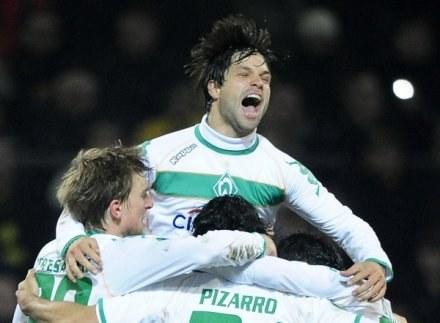 Diego cieszy się z gry w Werderze, ale latem może odejść do większego klubu /AFP