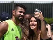 Diego Costa imprezował w koszulce Atletico Madryt