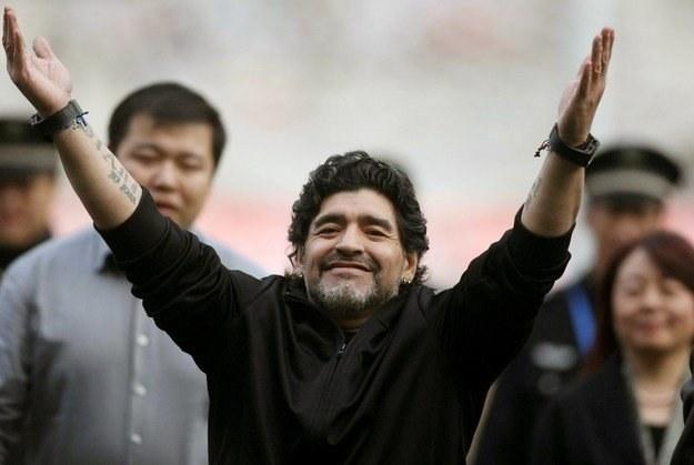 Diego Maradona ma szansę powrócić na trenerską ławkę /AFP