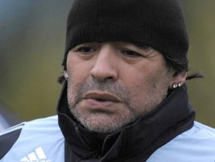 Diego Maradona narozrabiał i teraz za to zapłaci /AFP