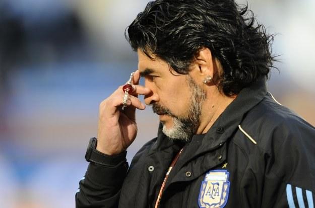 Diego Maradona nie jest już selekcjonerem Argentyny /AFP