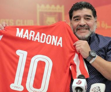 Diego Maradona spotkał się z triumfatorami KHL. Wideo