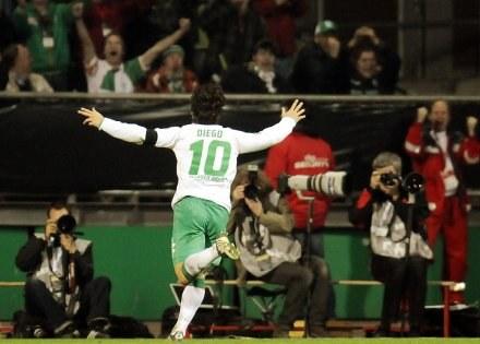 Diego świetnie sobie radzi w Werderze /AFP