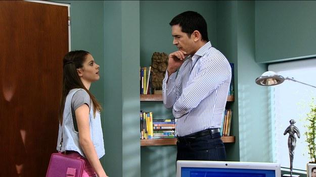 Diego traktuje Martinę jak swoją córkę. Dlatego świetnie bawią się razem na planie. /materiały prasowe