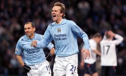 Dietmar Hamann przeżywa drugą młodość w Manchesterze City. /AFP