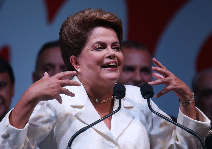 Dilma Rousseff /Getty Images
