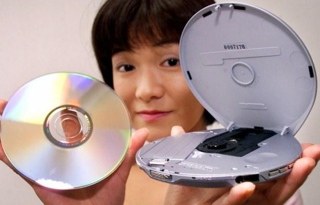 Discman - nie tak popularny jak Walkman, ale to nadal był sukces tej japońskiej firmy /AFP