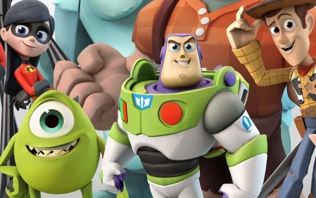 Disney Infinity - motyw graficzny /materiały prasowe