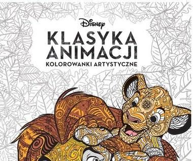 Disney: Klasyka Animacji. Kolorowanka artystyczna