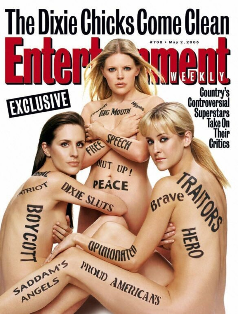 "Dixie Chicks na ""Entertainment Weekly"" /AFP/HO /East News"
