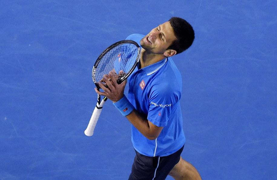 Djokovic w półfinale Australian Open /LUKAS COCH /PAP/EPA