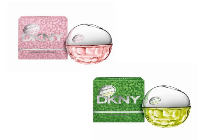 DKNY Be Delicious Crystallized i Fresh Blossom Crystallized /materiały prasowe