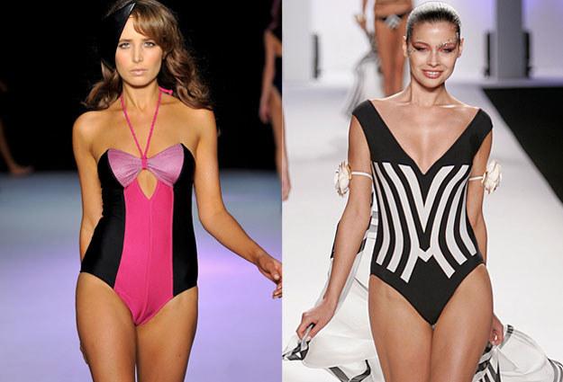 Dla figury typu O najkorzystniejsze są kostiumy jednoczęściowe /Getty Images/Flash Press Media
