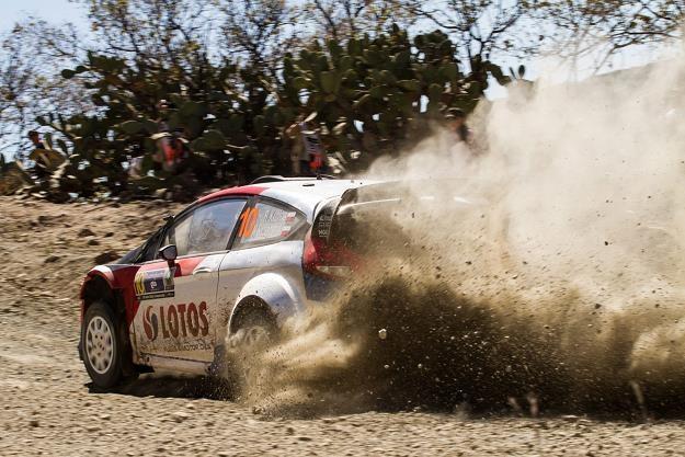 Dla Kubicy Meksyk to pierwszy start autem WRC na szutrze /PAP/EPA
