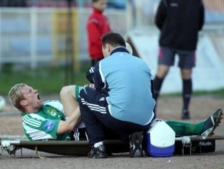 Dla Marcina Drzymonta sezon zakończył się w Wodzisławiu /fot. Irek Dorożański /Agencja Przegląd Sportowy
