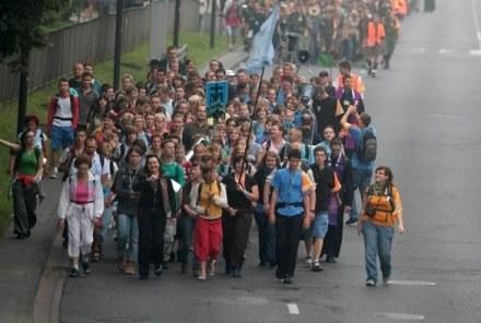Dla Polaków religia jest ważna. Pielgrzymi w drodze na Jasną Górę / fot. P. Grzybowski /Agencja SE/East News