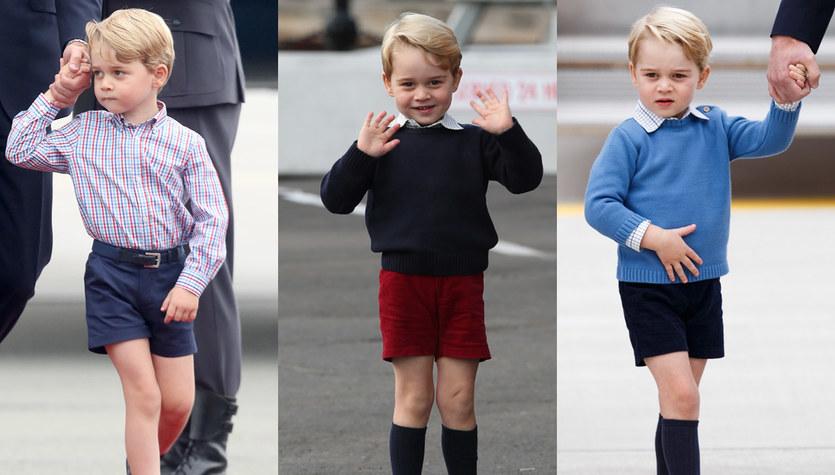 Dlaczego książę George zawsze chodzi w szortach