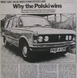 Dlaczego Polski Fiat zwycięża?