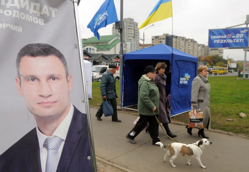 Dlaczego ukraińska opozycja nie jest (póki co) w stanie zagrozić władzy? /AFP