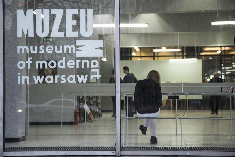 """DM """"Emilia"""" był tymczasową siedzibą warszawskiego Muzeum Sztuki Współczesnej od 2012 roku /Maciej Luczniewski/REPORTER /East News"""