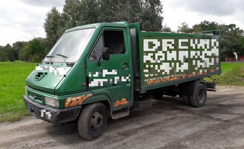 """DMC tego pojazdu to 3,5 t, ale właściciel """"zadbał"""", aby wzrosłą ona znacząco /ITD"""